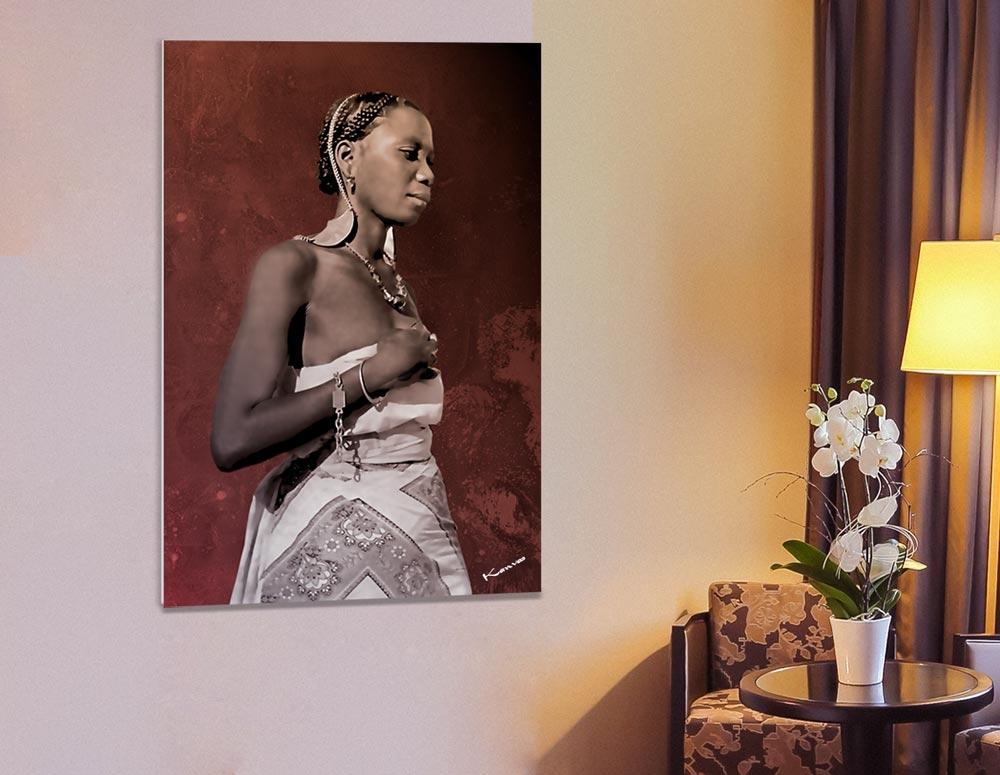 PTR 002- Femme du Sud de Madagascar